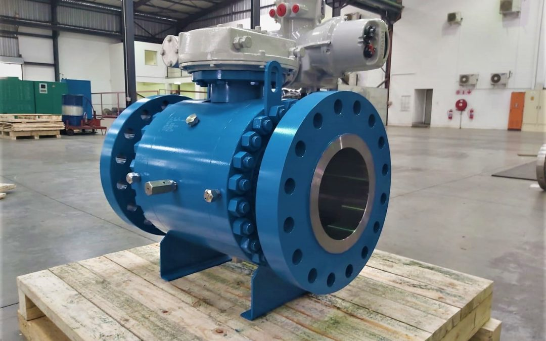Another ball valve for the Oil & Gas Industry
